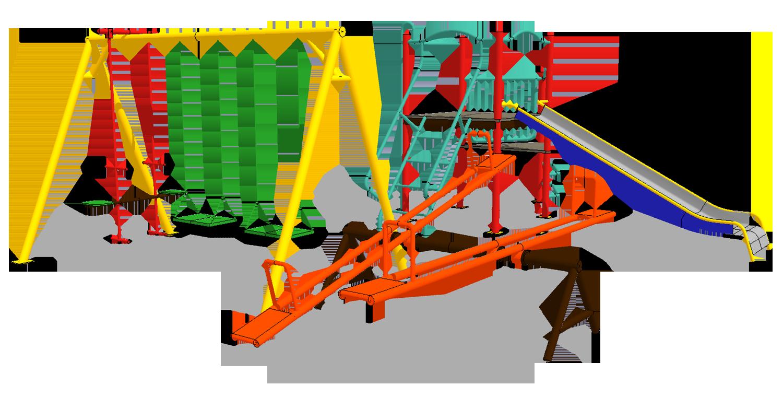 Indoor Playground Slide